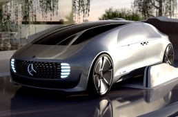 The future, according to Mercedes-Benz F 015 Luxury in Motion