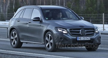 Mercedes-Benz GLC sheds more camo – latest spy pictures