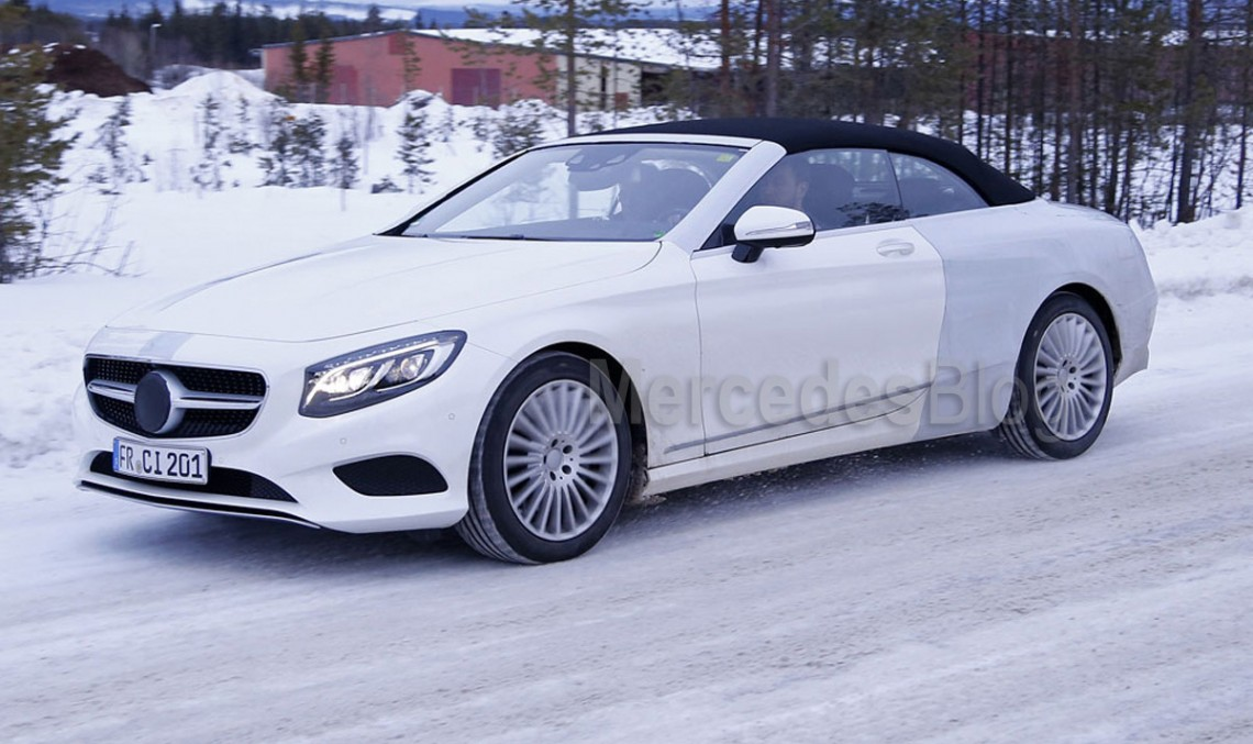 Mercedes news at Frankfurt Motorshow: S-Class Cabrio and C-Class Coupe