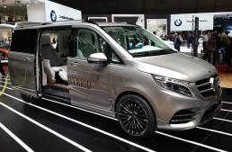 GENEVA LIVE: Mercedes-Benz V-ision e Concept (VIDEO UPDATE)