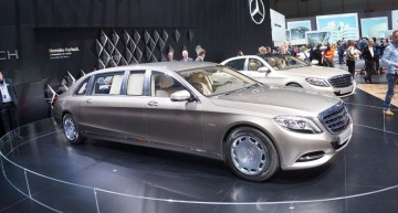 GENEVA LIVE: Mercedes-Maybach S-Class Pullman luxury king (with video)