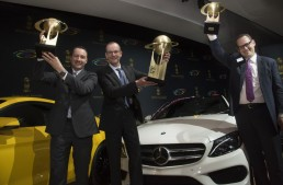 And the World Car of the Year award goes to… the Mercedes-Benz C-Class