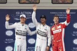China F1: Third pole for Hamilton