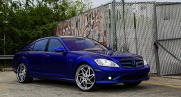 How blue is too blue? The Big Blue S-Class