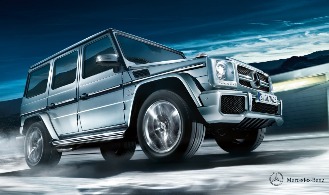 """Five """"Off Road Award 2015"""" trophies for Mercedes-Benz"""