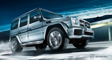 "Five ""Off Road Award 2015"" trophies for Mercedes-Benz"