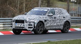 Jaguar F-Pace has been caught again – spy pics
