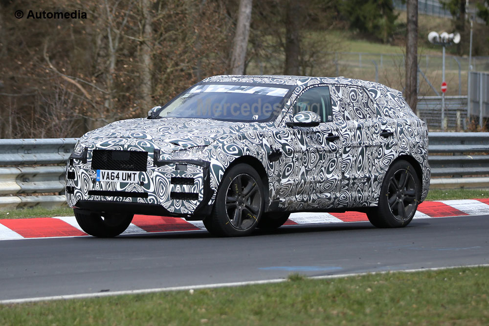 Jaguar F-Pace has been caught again – spy pics