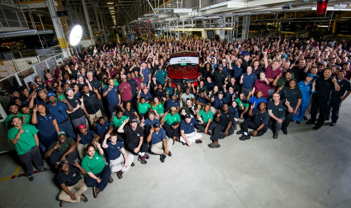 Mercedes-Benz celebrates production launch of the GLE Coupe