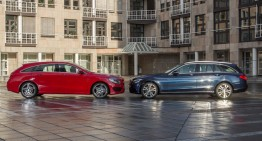 The stylish CLA Shooting Brake vs the classical C-Class Estate. Which is best?