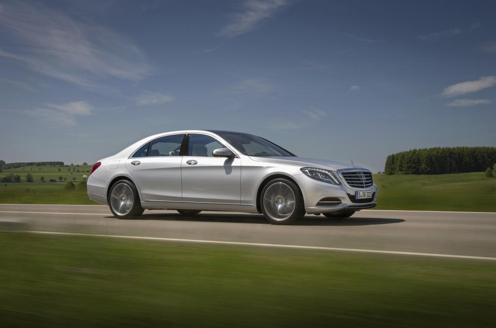 S-Class is Auto Express' Luxury Car of the Year 2015