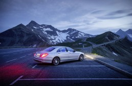 Magic in the Alps with the Mercedes S63 AMG