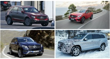 2015: The year of SUVs for Mercedes-Benz