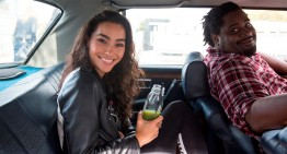 Meet the perfect taxi driver. He'd even work out for you! Video