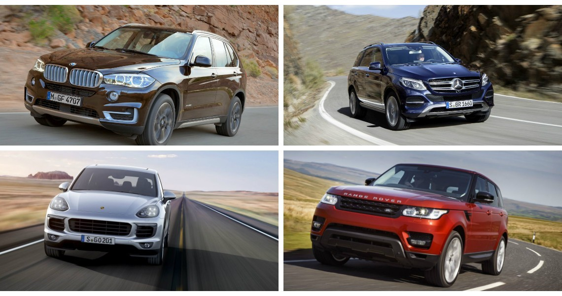 Mercedes Gle Better Prepared To Fight X5 Range Rover