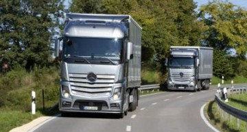 Mercedes-Benz Actros 1842 wins Green Truck Award