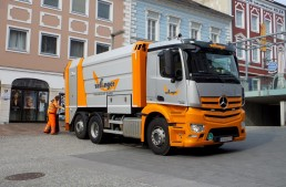 Mercedes-Benz Antos 2536 L, the waste collector's dream