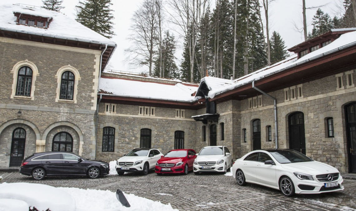 The big conundrum: choosing between the Mercedes-Benz compact range