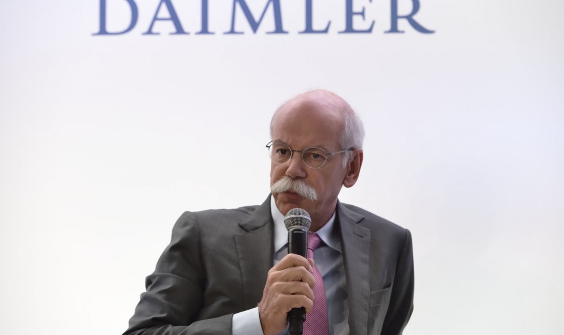 Daimler profit on a high in 1st quarter of 2015