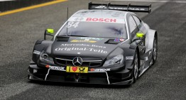 Video: Mercedes-AMG 2015 DTM tests in Estoril