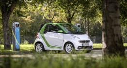Third consecutive year on top for the e-smart in Germany