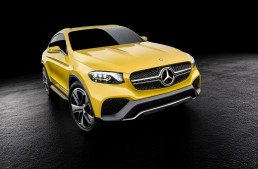 Hello, yellow! First video of the GLC Coupe Concept released