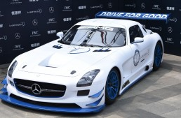 100th Mercedes-AMG SLS GT3 donated to Laureus for charity