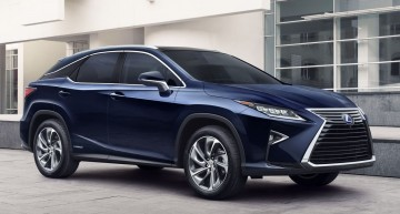 New Lexus RX takes on Mercedes' GLE in New York