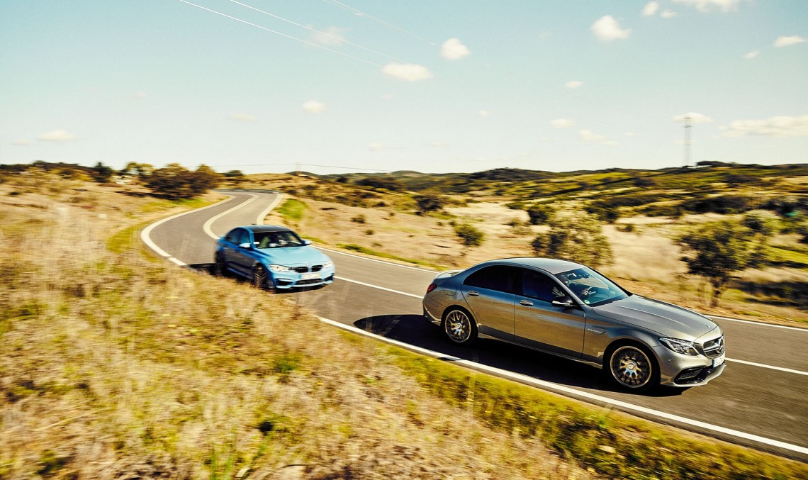 Mighty Mercedes-AMG C 63 crushes the BMW M3 in Car magazine test