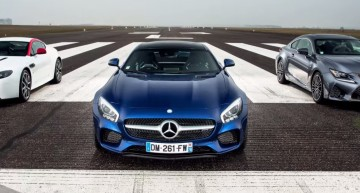 The Ultimate Battle: Mercedes-AMG GT S vs Aston Martin N430 vs Lexus RC F