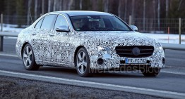 New info about the next Mercedes E-Class