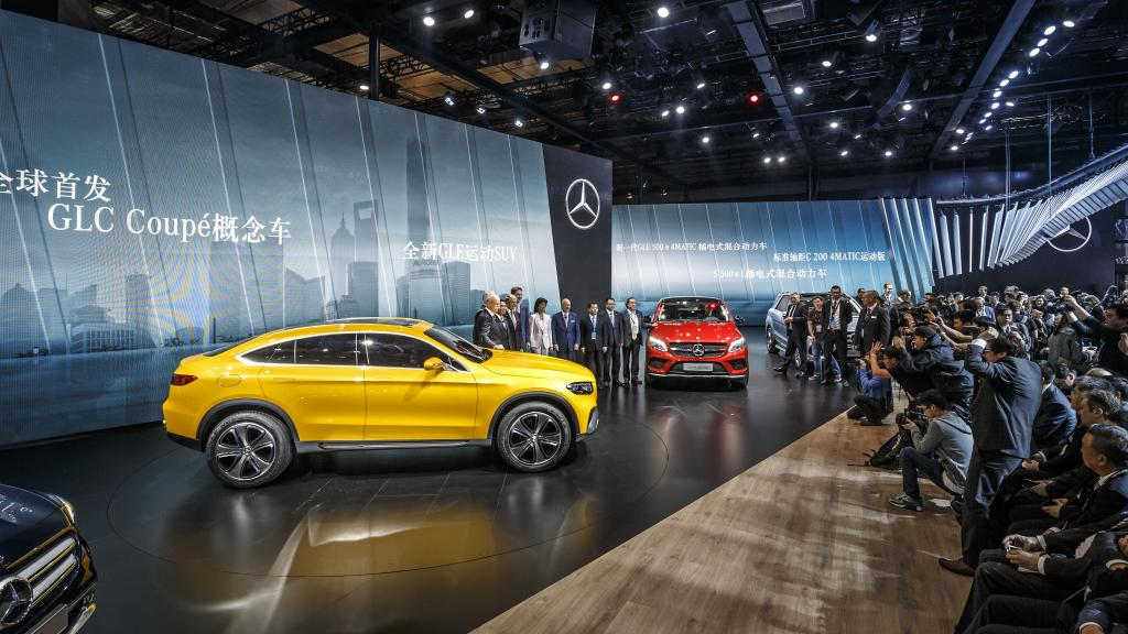 MercedesBenz LIVE From The Shanghai Auto Show MercedesBlog - Mercedes benz car show