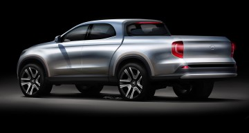 Mercedes-Benz GLT pick-up – all the secrets unfolded