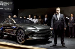 Aston Martin praises technology alliance with Daimler