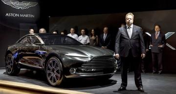 Aston Martin praises technology alliance with Daimler