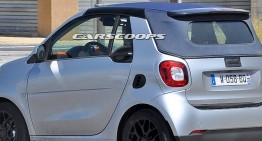 smart ForTwo Cabrio caught virtually undisguised
