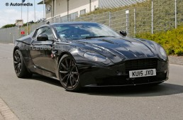 Aston Martin DB11 set to challenge the S-Class Coupe