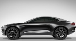 Aston Martin may use an own platform for the DBX