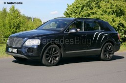 Bentley's first-ever SUV revealed. Mercedes-Maybach answer in the making