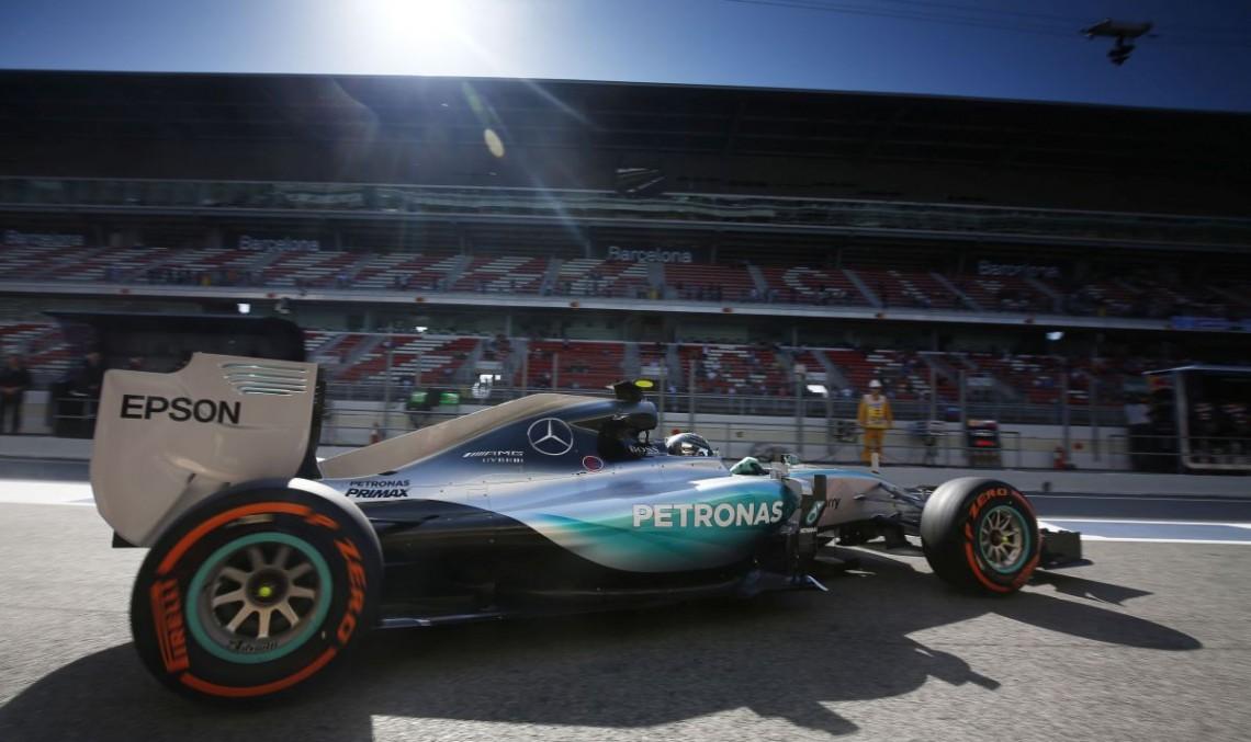 F1 Spain, Qualifying: Rosberg takes pole, Hamilton comes next