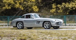 Mercedes 300 SL Gullwing AMG – the most rare Gullwing