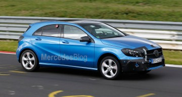 Mercedes-Benz A 45 AMG facelift in line for significant power boost