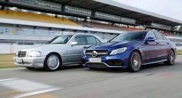 A fascinating comparison: Mercedes C 43 AMG vs Mercedes-AMG C 63 S