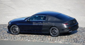 All-new Mercedes-Benz C-Class Coupe caught on video