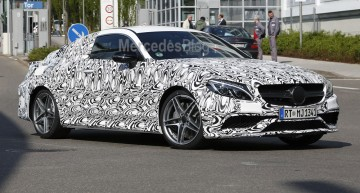 Mercedes-AMG C 63 Coupe striptease continues – spy pictures