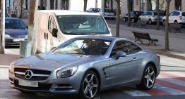 """Shakira parks her Mercedes """"Whenever, Wherever…."""""""