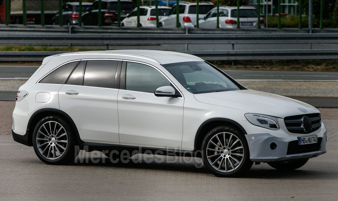 New info about Mercedes GLC model range