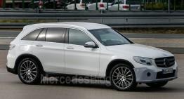 New info about Mercedes GLC model range