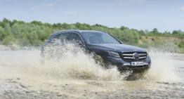 WORLD-FIRST: Mercedes-Benz GLC already tested by Autocar