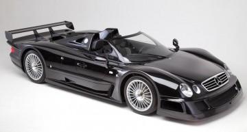 One of the six Mercedes-Benz CLK GTR Roadsters for sale at a Bonhams Auction in Goodwood